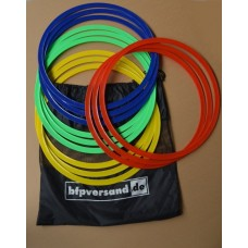 Agility Rings, set of 12, incl. bag