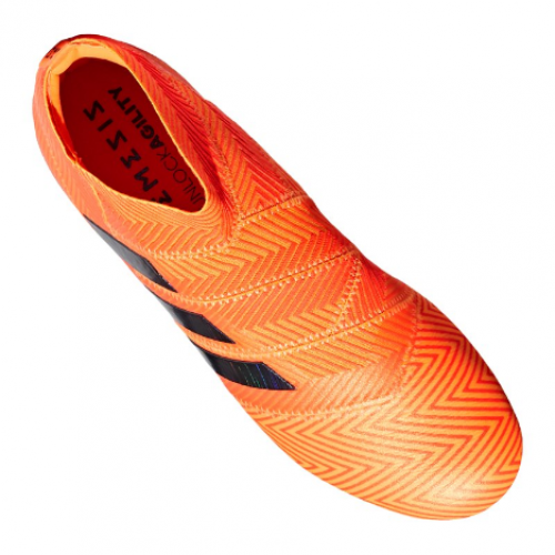 buy online 1fb34 49cad adidas NEMEZIZ 18 FG Orange black 589