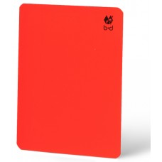 Referee's Disciplinary Card – neon red