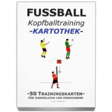 "FOOTBALL training card library - ""Kopfballtraining"""